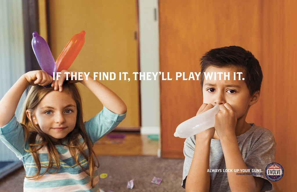 Evolve - If they find it, they ll play with it Condoms