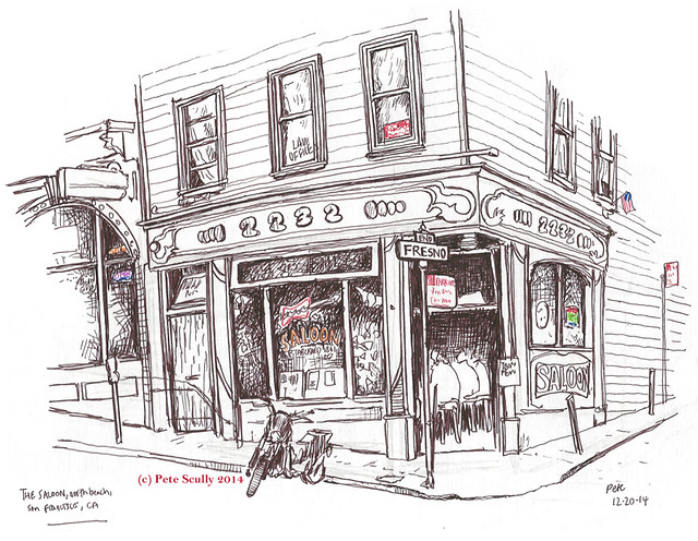 How Far Is Tivoli From New York City Old Drinking Spots Of North Beach | Urban Sketchers