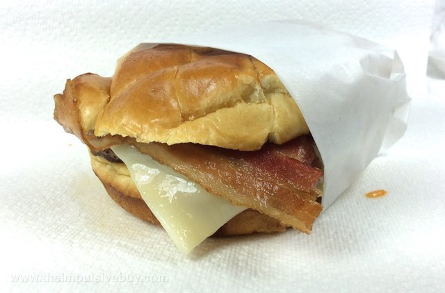 Jack in the Box Bacon & Swiss Buttery Jack