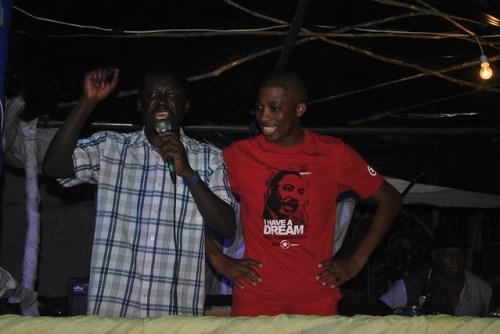 Diversas personalidades moçambicanas no carnaval de Quelimane (2015)