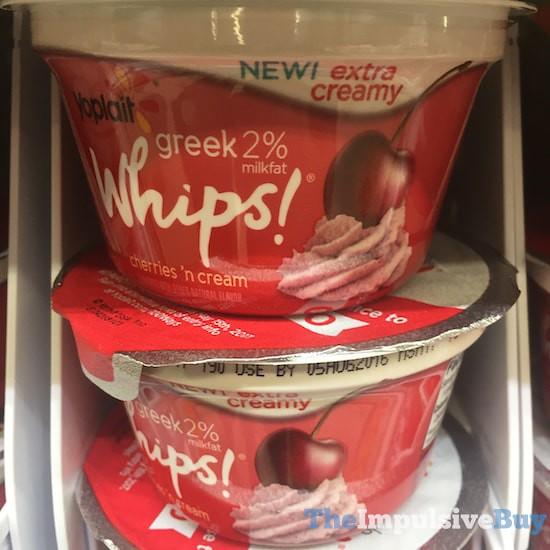 Yoplait Greek 2% Whips Cherries n' Cream Yogurt