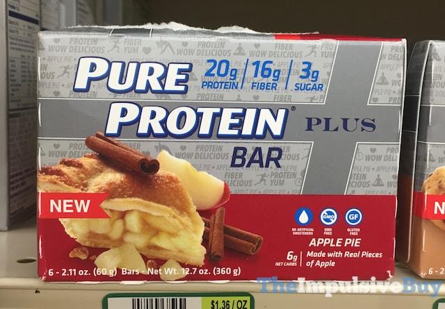 Pure Protein Apple Pie Plus Bar