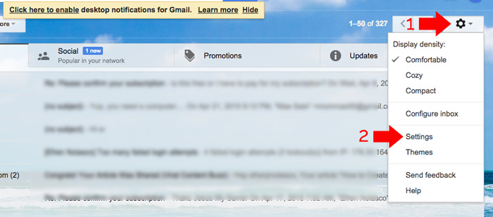 How to Add Email Signature in Gmail and Yahoo Mail