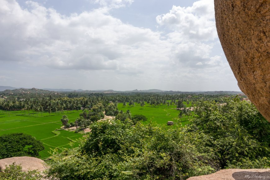 hampi beautiful view from above