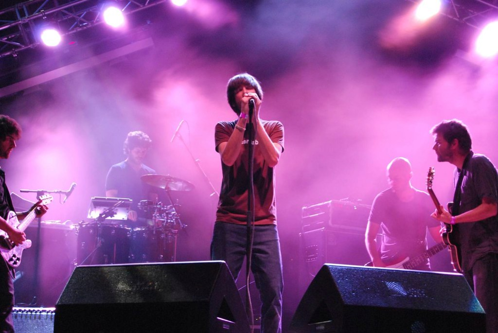 Imagen gratis de Vetusta Morla en concierto