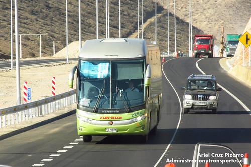 Tur Bus - Atacama - Marcopolo Paradiso 1200 G7 / Mercedes Benz (CSHW36)