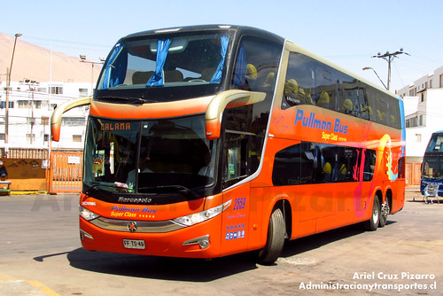 Pullman Bus - Iquique - Marcopolo Paradiso 1800 DD / Scania (FFTS49)