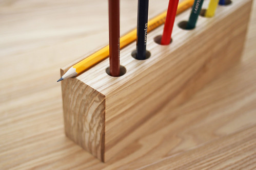 Wooden Desk Organizer Pencil Holder 2 Wooden Desk