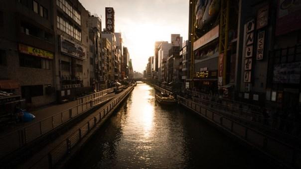 Sunset @ Osaka