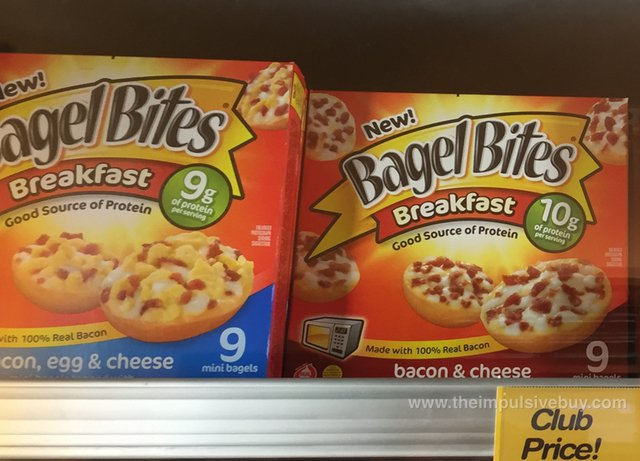Bagel Bites Breakfast