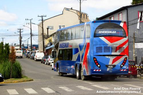 Andesmar Chile - Valdivia - Metalsur Starbus / Mercedes Benz (FYBK42)