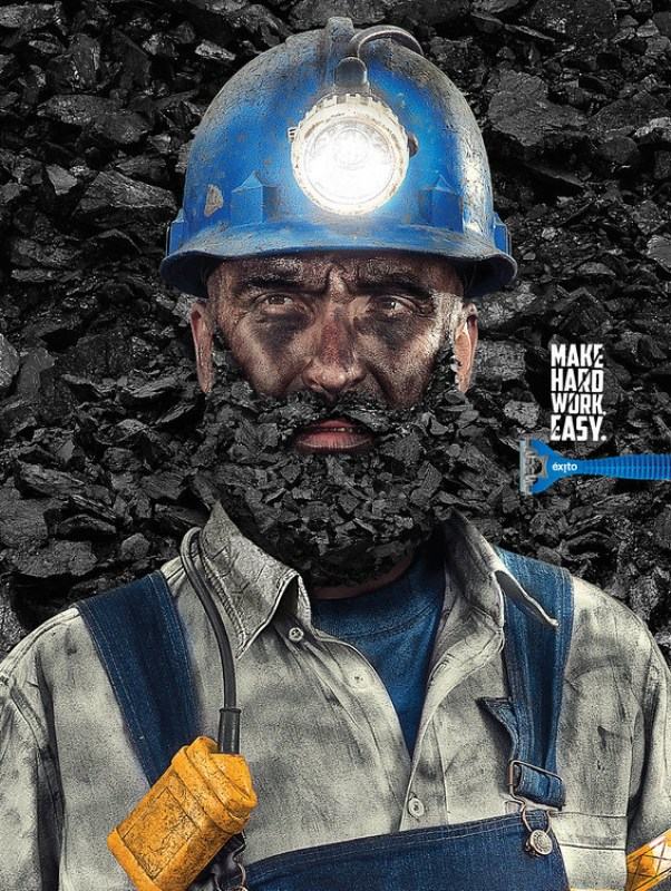 Éxito Razors - Coal Beard