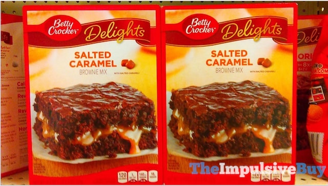 Betty Crocker Delights Salted Caramel Brownie Mix