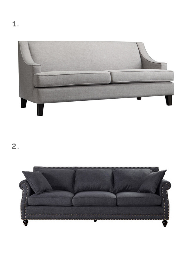 small space sofas on budget