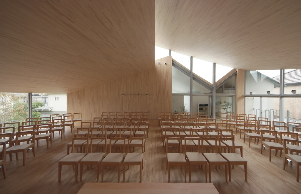 United Church of Christ in Japan, Ikuta Church Ryue Nishizawa - küche u form