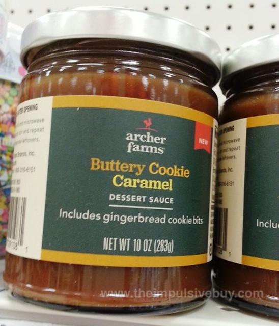 Archer Farms Buttery Cookie Caramel Dessert Sauce