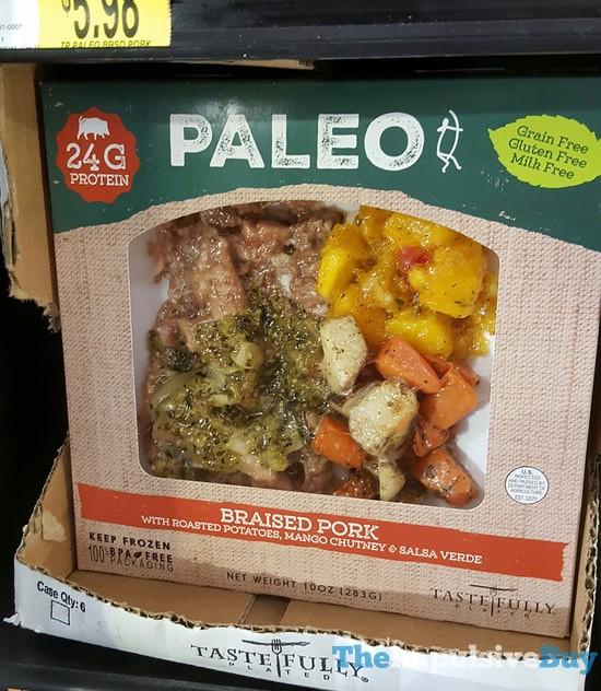 Tastefully Plated Paleo Braised Pork