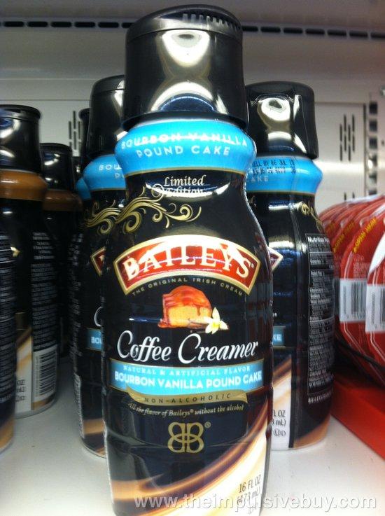 Bailey's Limited Edition Bourbon Vanilla Pound Cake Coffee Creamer