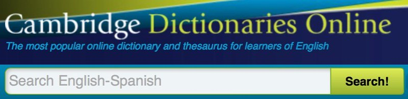 dictionary cambridge org learner english