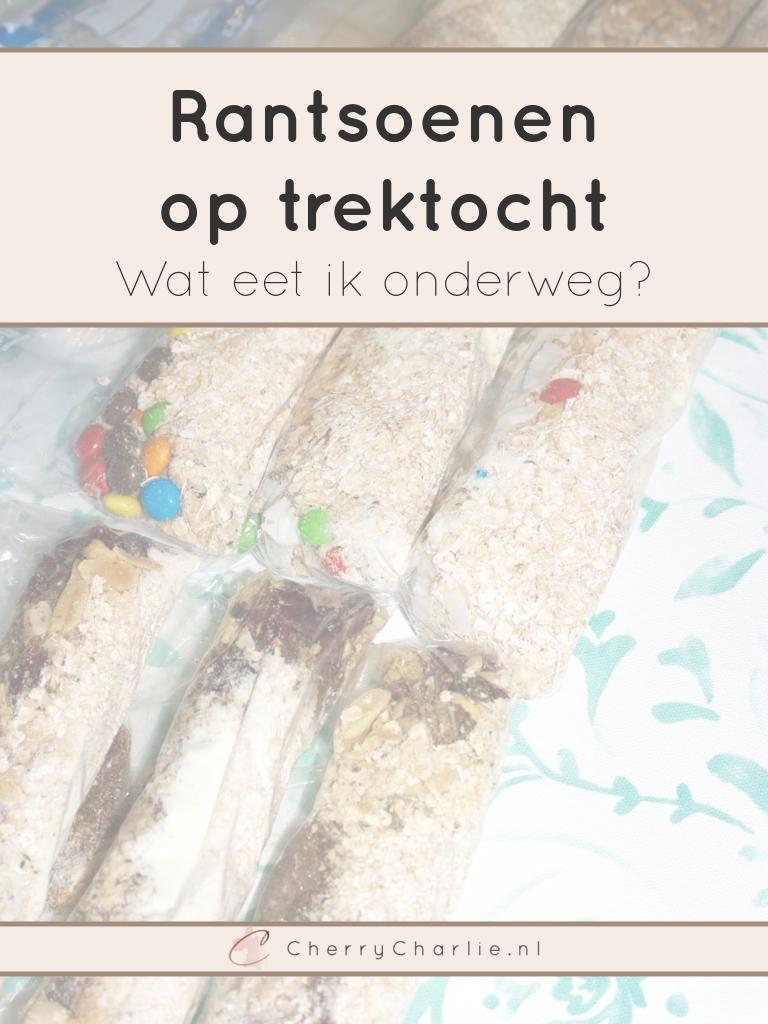Rantsoenen op trektocht - Wat eet ik onderweg? • CherryCharlie.nl