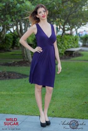 Wrapsody Dress | Purple
