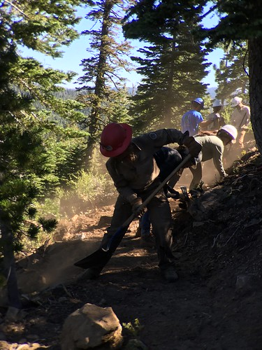 PCTA Trail Crew 2016: Sierra Buttes