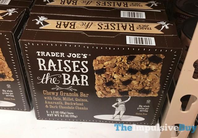 Trader Joe's Raises the Bar Chewy Granola Bar