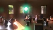 Room natural light render