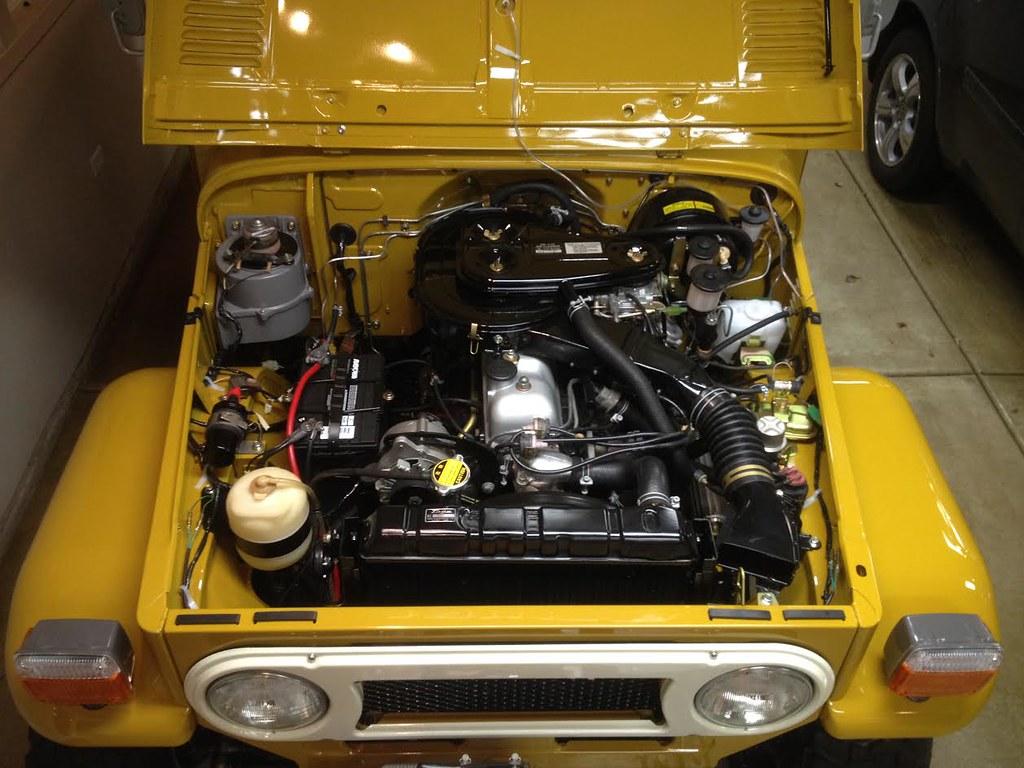 55 Chevy Dash Wiring Diagram Restored 1977 Toyota Land Cruiser Fj40 For Sale On Bat