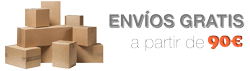 Envío gratis a partir de 90 euros - Farmacia Verónica Aznar