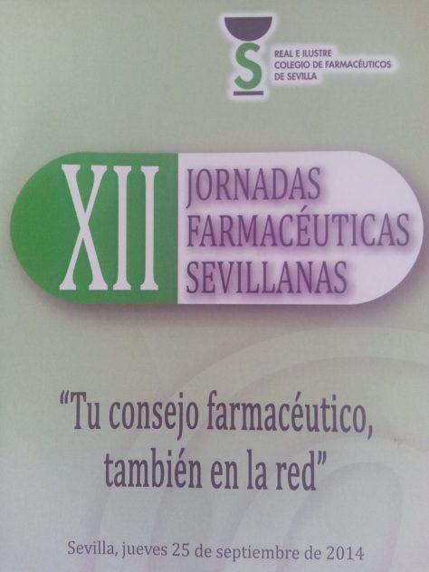 Jornadas Sevillanas: Tu consejo farmacéutico también en la red.