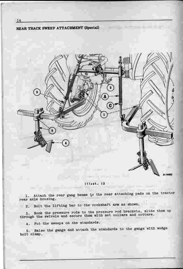 Farmall Cub Cultivator Diagram Wiring Schematic Diagram