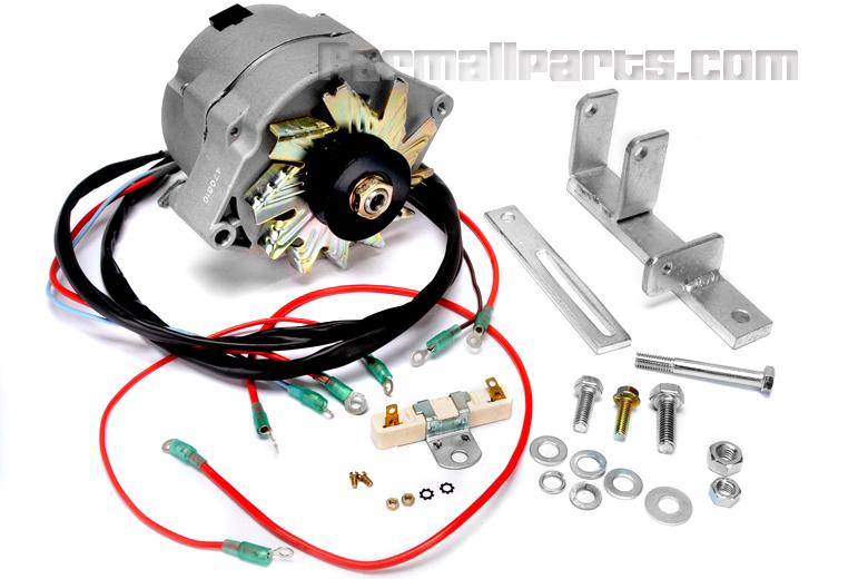 Alternator Conversion Kit - Farmall M, MD - Farmall H Restoration