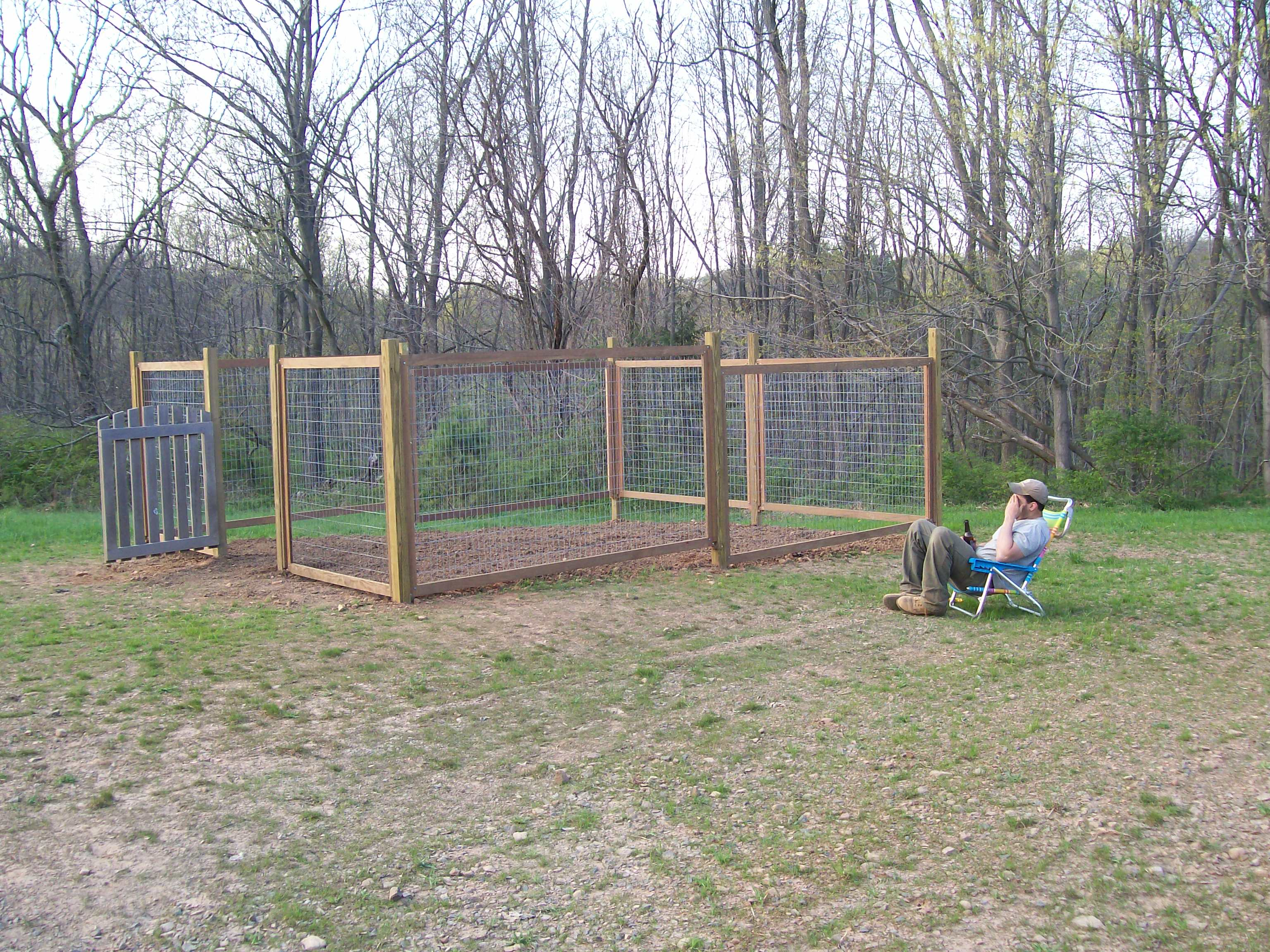Goedkope Tuinafscheiding Fence For Our Vegetable Garden Farmer 39s Daughter