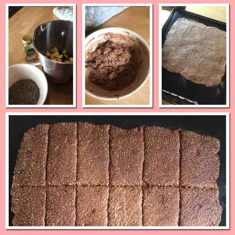 Making Chocolate Chia Seed Bars in the Optimum P200 Dehydrator