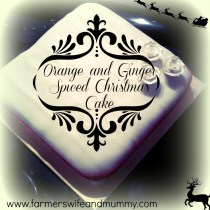 christmas cake title