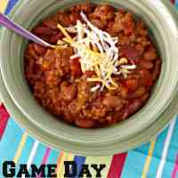 Game Day Chili Recipe