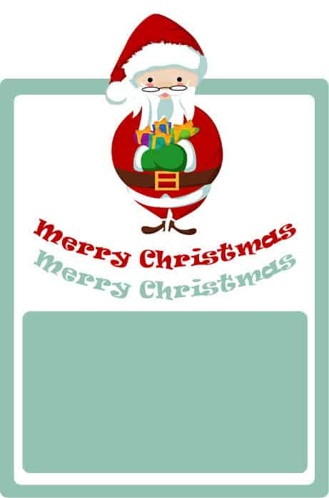 Free Printable Christmas Gift Tags - Farmer\u0027s Wife Rambles
