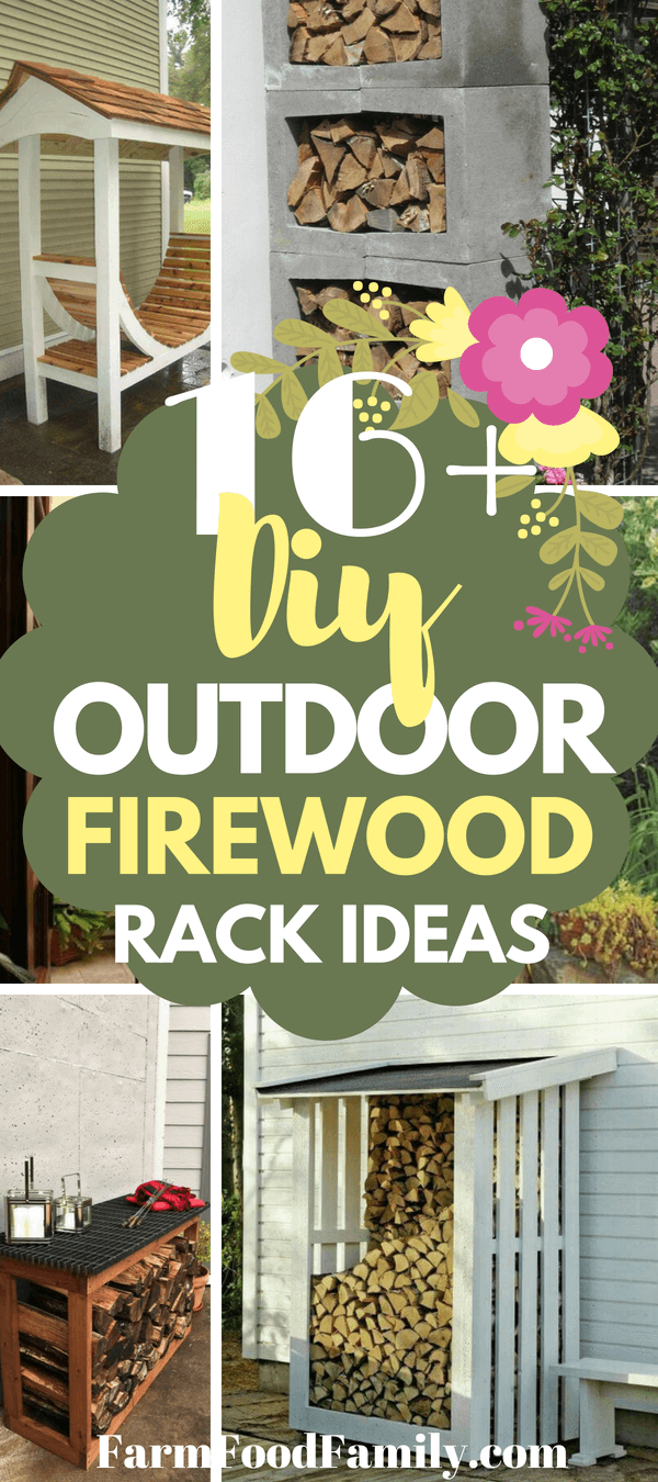 Outdoor Firewood Rack 16 Cheap Easy Diy Outdoor Firewood Rack Ideas You Should Try