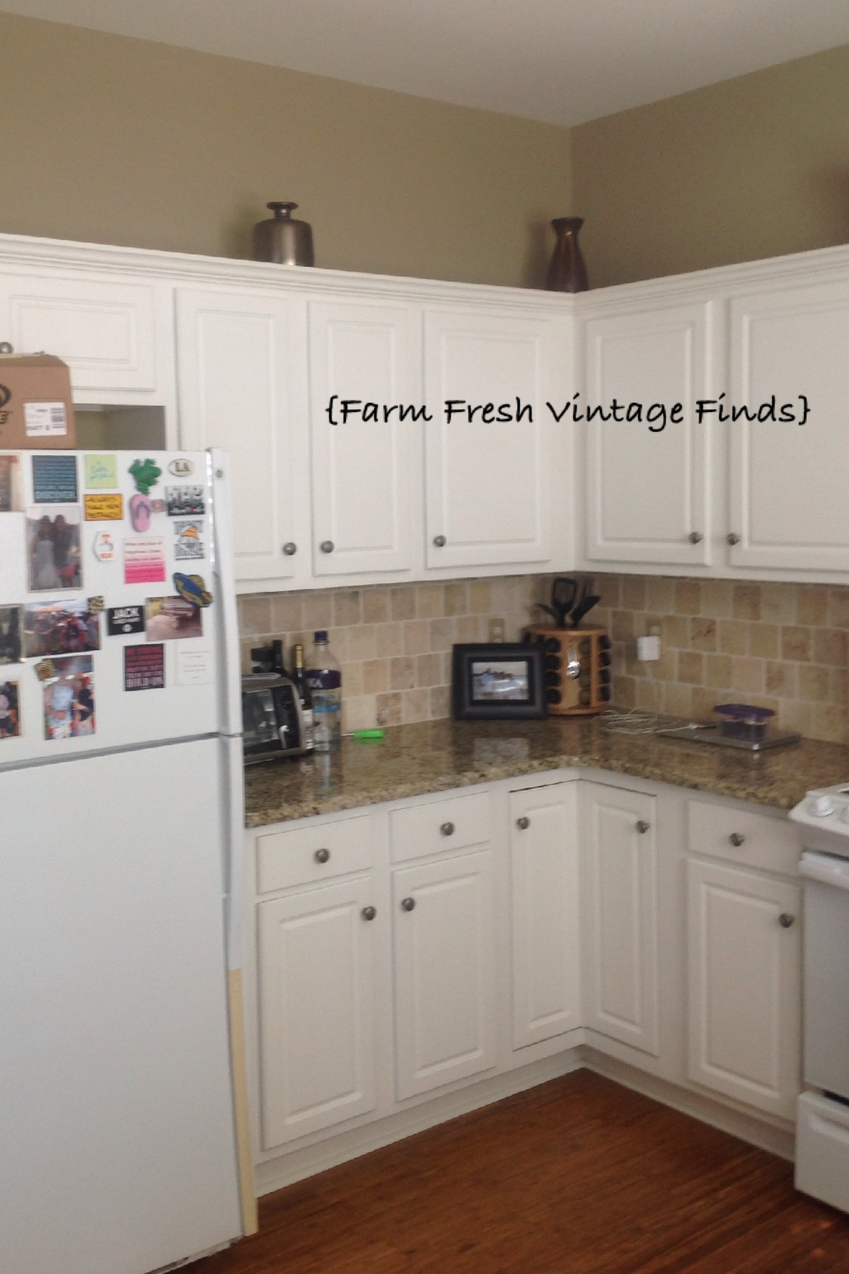 Thermofoil Kitchen Cabinets Painting Thermofoil Cabinets With Annie Sloan Part 1