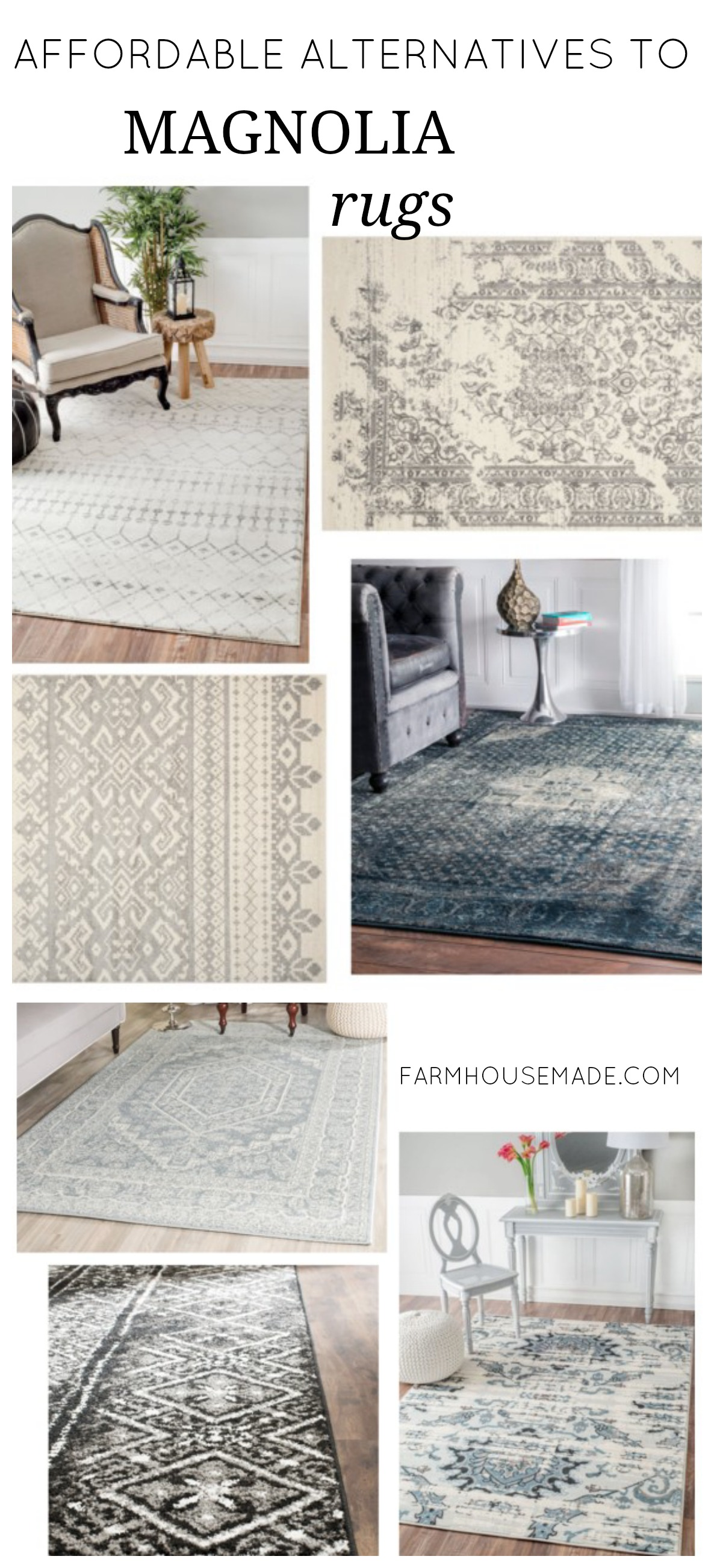 Rustic Farmhouse Area Rugs What To Do When You Can 39t Afford Joanna 39s Rugs Farmhouse