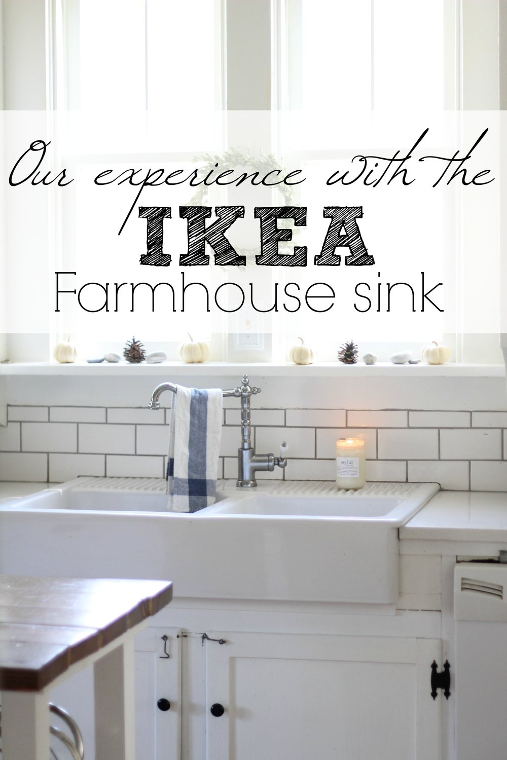 White Farmhouse Sinks For Sale Our Experience With The Ikea Domsjo Double Bowl Farmhouse Sink