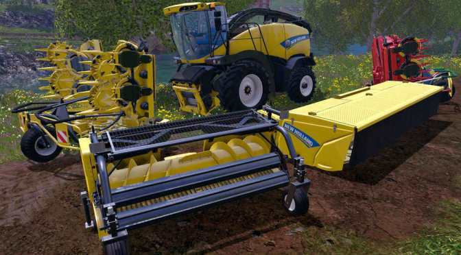 Скачать Farming Simulator 2015 v.1.3.1 + все DLC
