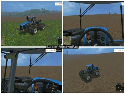 Мод трактор New Holland T9.560 Duel Wheel v 2.0 Farming Simulator 15