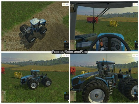 Мод трактор New Holland T9.670 Duel Wheel v 1.0 Farming Simulator 2015