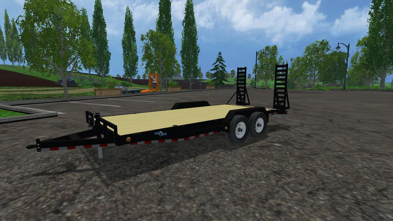 Ls 2013 Farming Simulator Load Trail Equipment Trailer V1 For Fs 2015 Farming Simulator