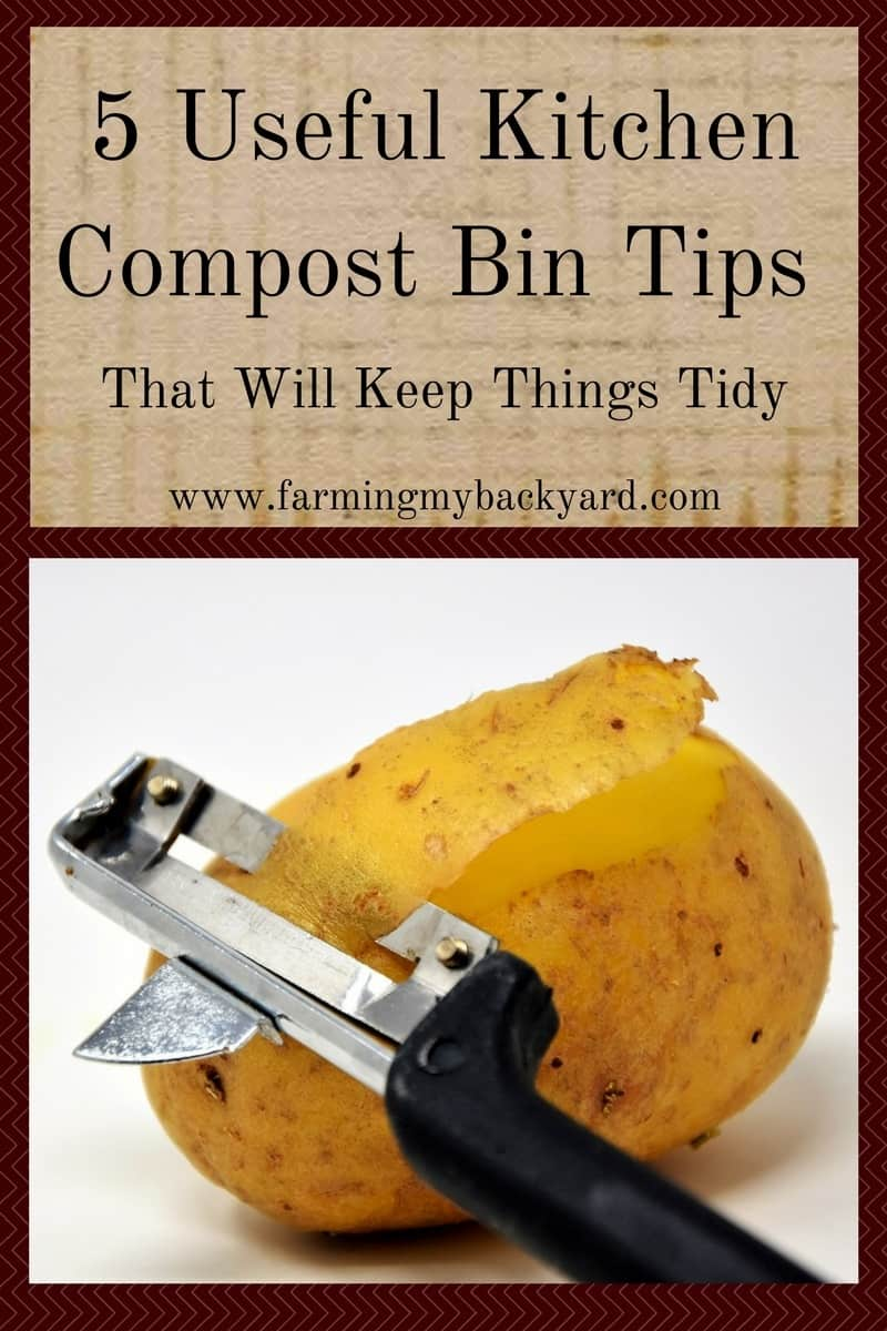 Kitchen Tidy Bins 5 Useful Kitchen Compost Bin Tips That Will Keep Things Tidy
