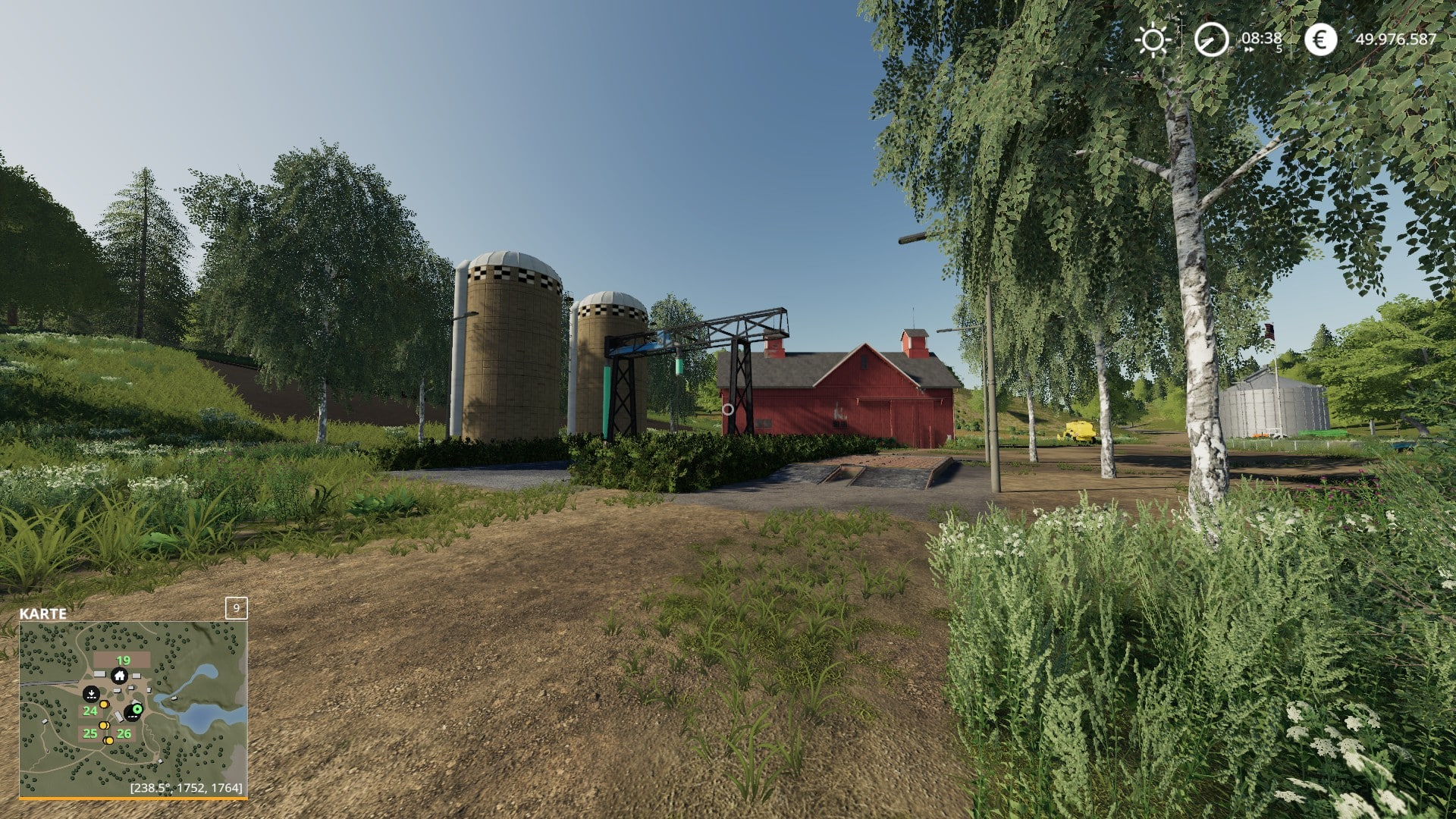 Deko Discount 24 Unloading Station With Deko 1 Ls 19 Farming Simulator 17