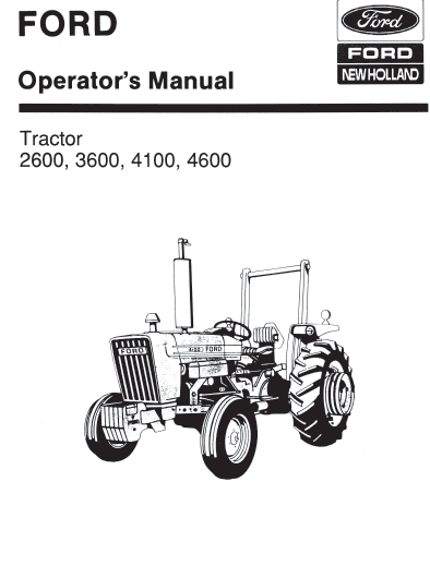 pdf wiring diagram for a ford 4100 tractor