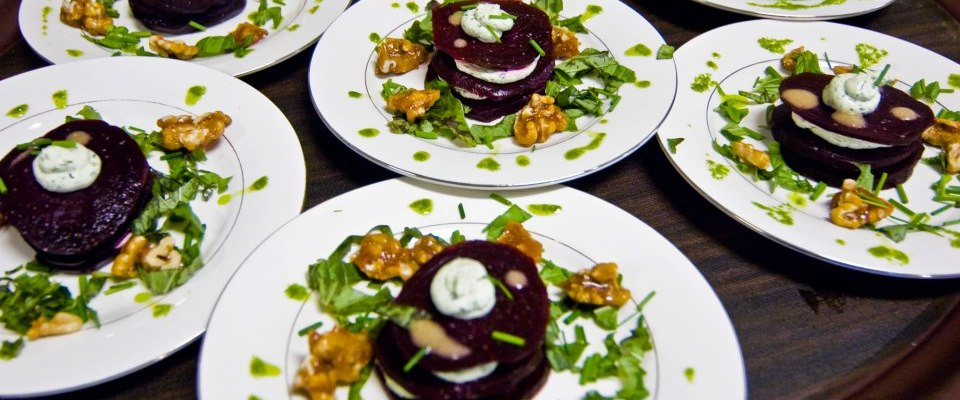 Beet with Goat Cheese